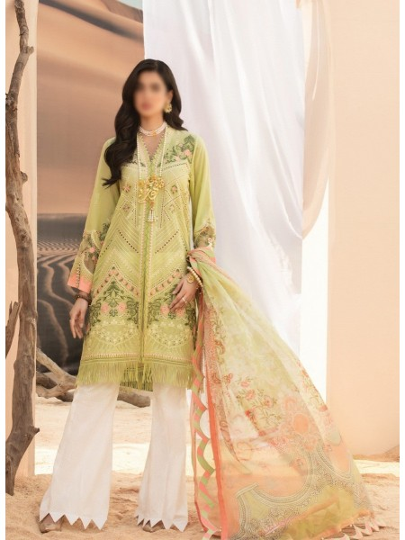 NOOR By Saadia Assad Luxury Lawn Collection 2021 D-D 01 A