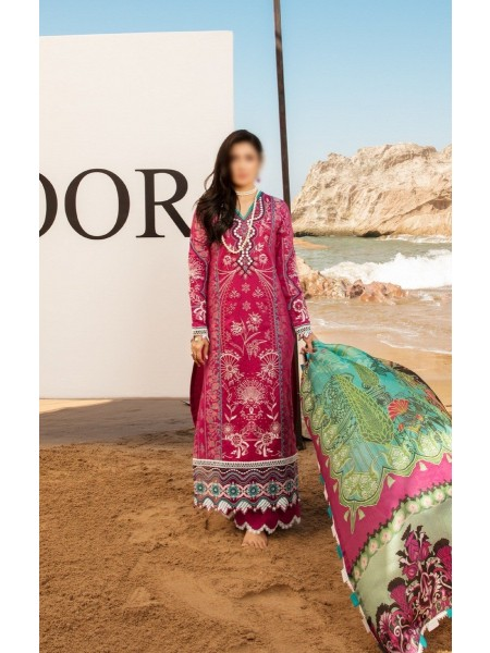 NOOR By Saadia Assad Luxury Lawn Collection 2021 D-D 03 A