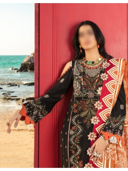 NOOR By Saadia Assad Luxury Lawn Collection 2021 D-D 06 A