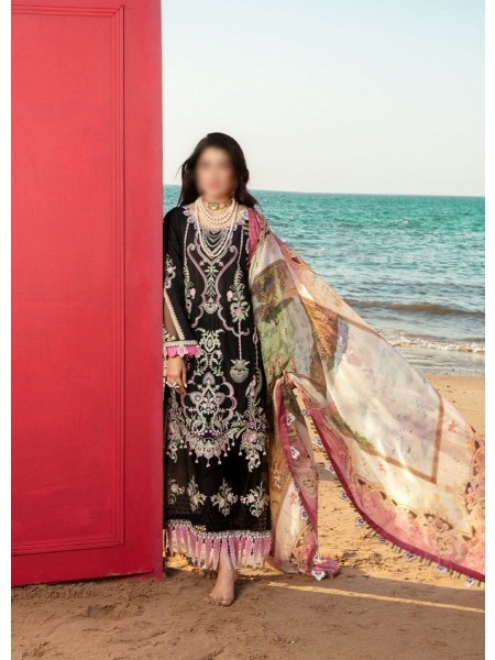 NOOR By Saadia Assad Luxury Lawn Collection 2021 D-D 08 A