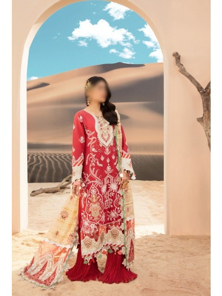 NOOR By Saadia Assad Luxury Lawn Collection 2021 D-D 09 A