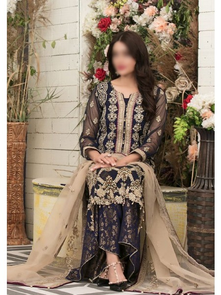 Riaz Arts Klara Fancy Embroidered Unstitched Collection D-1121