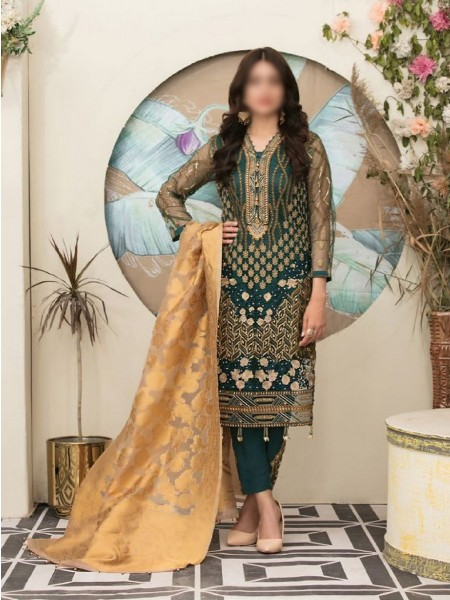 Riaz Arts Klara Fancy Embroidered Unstitched Collection D-1123
