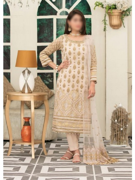 Riaz Arts Klara Fancy Embroidered Unstitched Collection D-1124