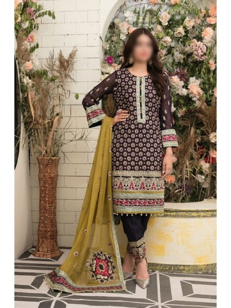Riaz Arts Klara Fancy Embroidered Unstitched Collection D-1126