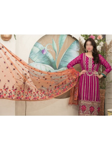 Riaz Arts Klara Fancy Embroidered Unstitched Collection D-1127