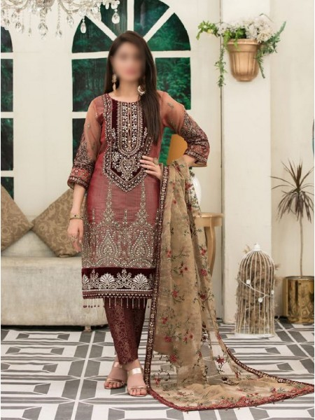 Riaz Arts Klara Fancy Embroidered Unstitched Collection D-1128