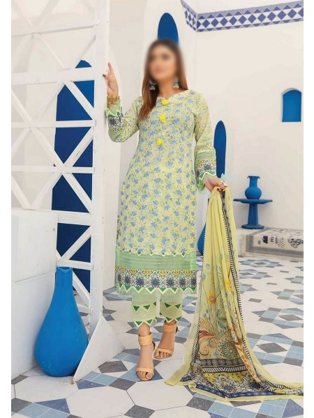 RIAZ ARTS Mahees Embroidered Unstitched Mother Collection D-02