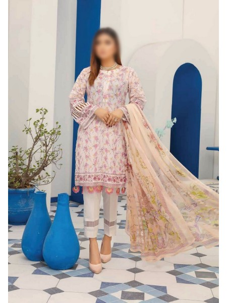 RIAZ ARTS Mahees Embroidered Unstitched Mother Collection D-03