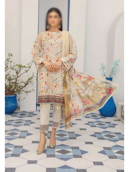 RIAZ ARTS Mahees Embroidered Unstitched Mother Collection D-06