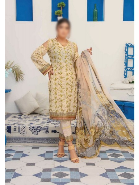 RIAZ ARTS Mahees Embroidered Unstitched Mother Collection D-07