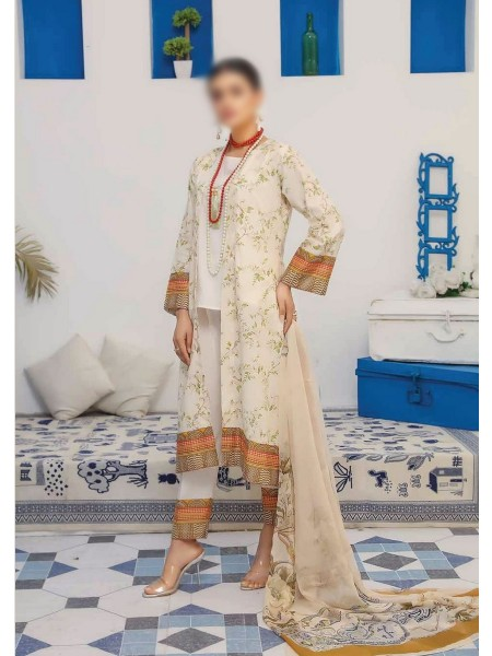 RIAZ ARTS Mahees Embroidered Unstitched Mother Collection D-08