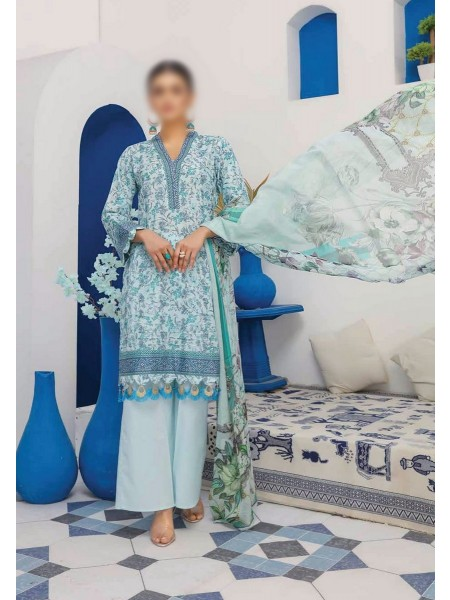 RIAZ ARTS Mahees Embroidered Unstitched Mother Collection D-10