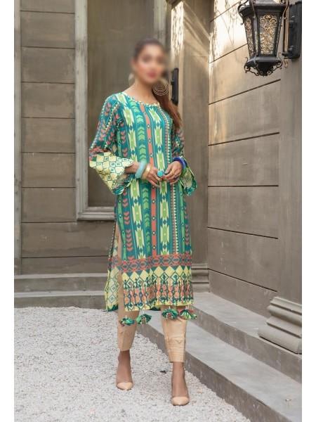 RIAZ ATRS Plush Premium Embroidered Lawn Kurti Collection D-01