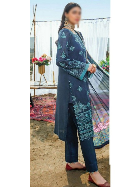 Serene Uns-e-Baharaan Luxury Lawn Collection 2021 D-SL 16
