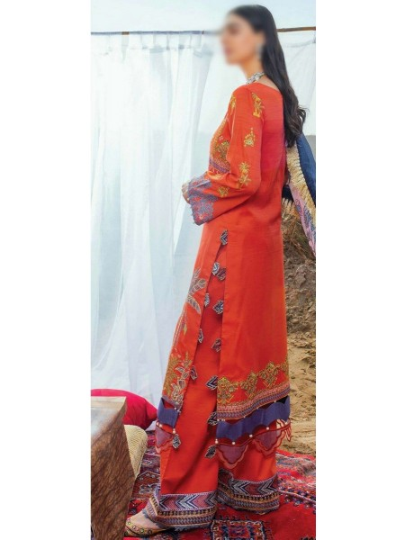 Serene Uns-e-Baharaan Luxury Lawn Collection 2021 D-SL 17