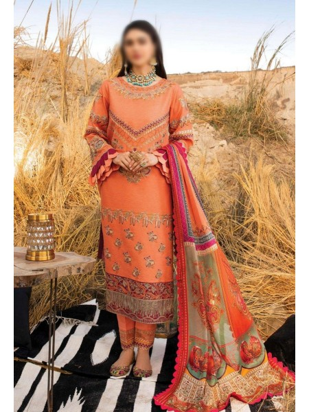 Serene Uns-e-Baharaan Luxury Lawn Collection 2021 D-SL 20