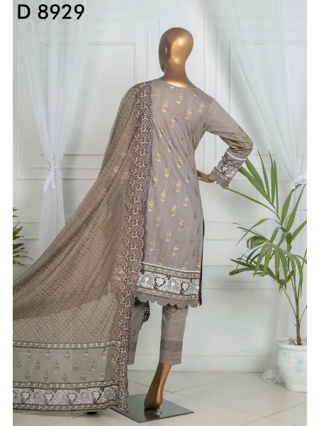 Tawakkal Dynamic Embroidered Jacquard Lawn Collection D-D 8929