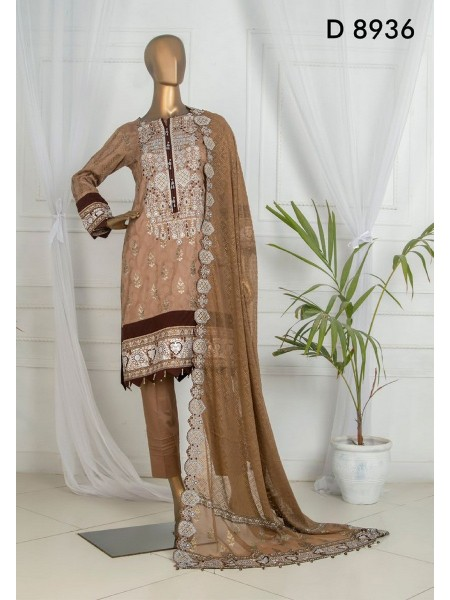 Tawakkal Dynamic Embroidered Jacquard Lawn Collection D-D 8936