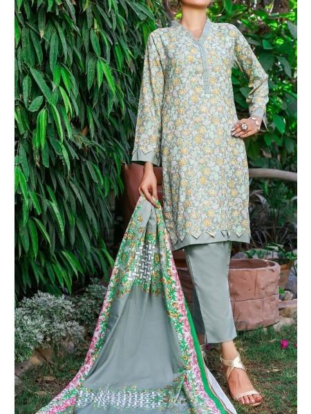 Amna Khadija Wrinkle Free Print Collection Vol-2 D-12