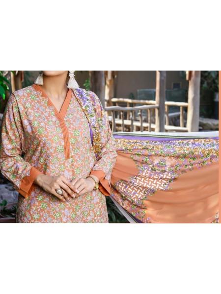 Amna Khadija Wrinkle Free Print Collection Vol-2 D-16