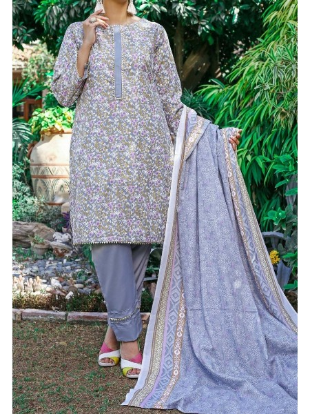 Amna Khadija Wrinkle Free Print Collection Vol-2 D-19