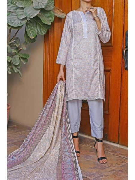Amna Khadija Wrinkle Free Print Collection Vol-2 D-22