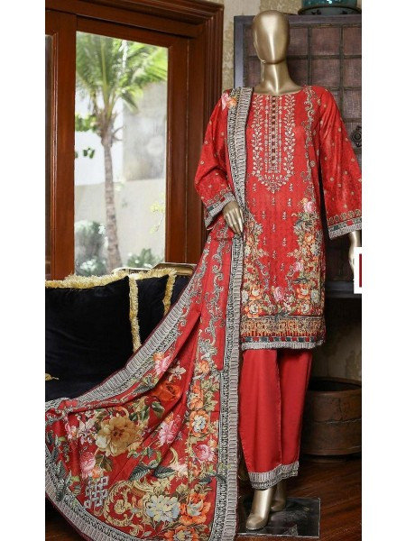 Bin Saeed Embroidered Collection21 Vol-10 D-1380
