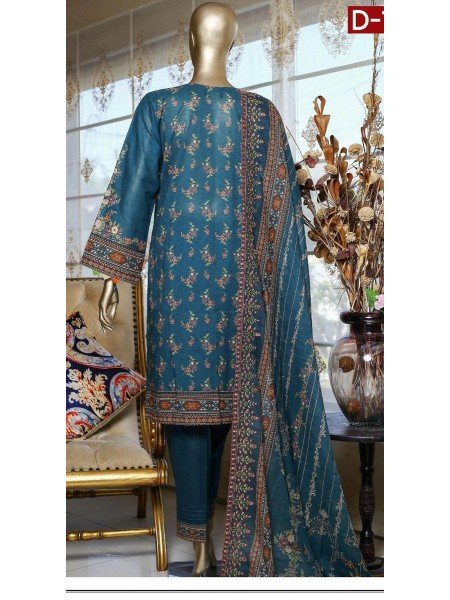 Bin Saeed Embroidered Collection21 Vol-10 D-1383