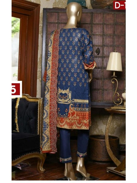 Bin Saeed Embroidered Collection21 Vol-10 D-1387