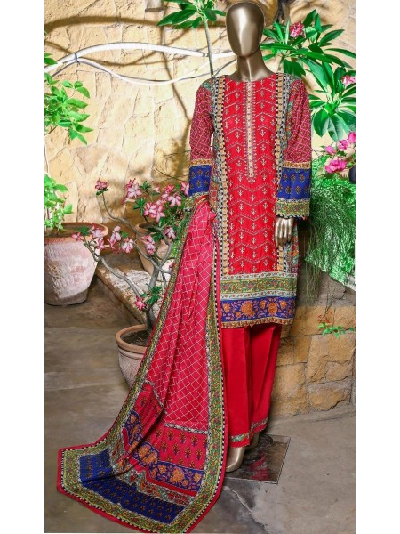 Bin Saeed Embroidered Collection21 Vol-10 D-513