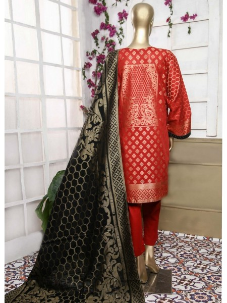 Bin Saeed Festive Embroidered Broshia Jacquard Banarsi Collection21 D-07