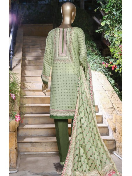 Bin Saeed Festive Stitched Embroidered Collection Vol-09 D-FR 502 A