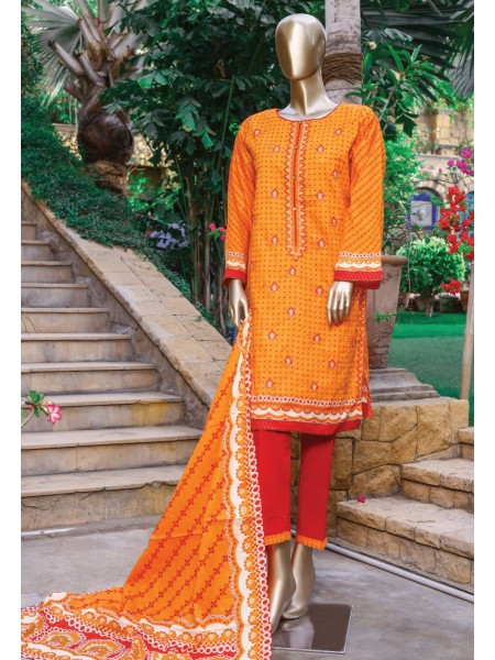 Bin Saeed Festive Stitched Embroidered Collection Vol-09 D-FR 502 B