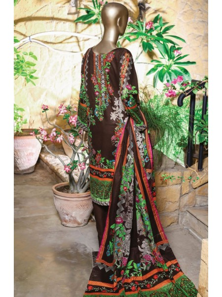 Bin Saeed Festive Stitched Embroidered Collection Vol-09 D-FR 503