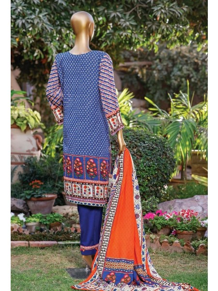 Bin Saeed Printed Lawn Collection Vol 2 - 2021 D-D 19
