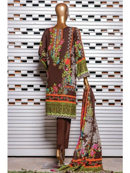 Bin Saeed Printed Lawn Collection Vol 2 - 2021 D-D 25