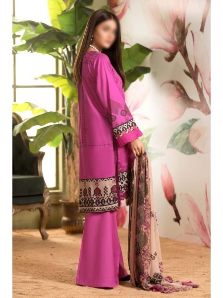 Charizma Embroidered Lawn21 Chapter-1 D-CEL 02