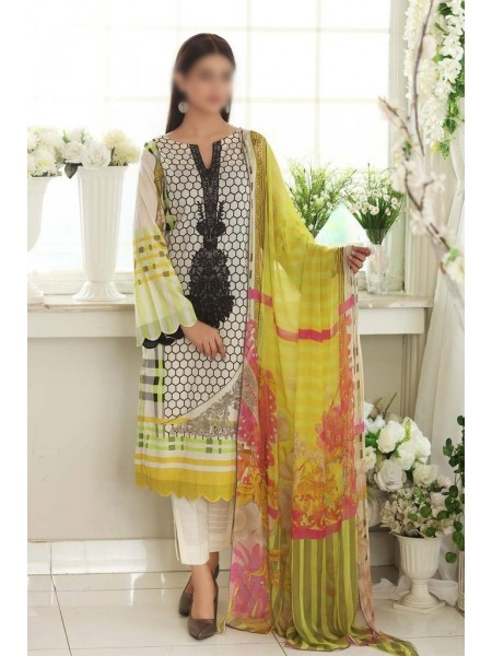 Charizma Embroidered Lawn21 Chapter-1 D-CEL 11