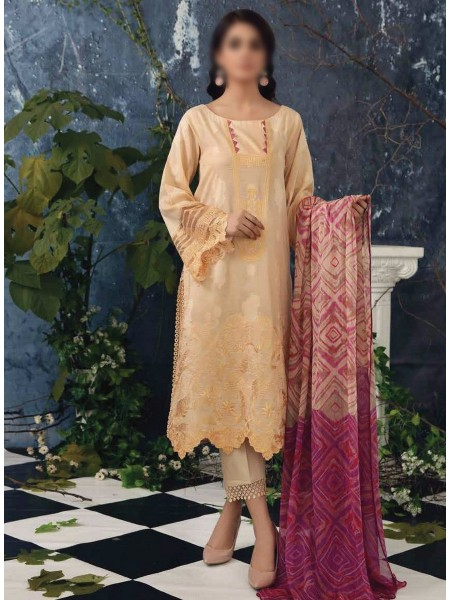 Charizma Sheen Embroidered Lawn Print Collection Vol 1 2021 D-SH 06