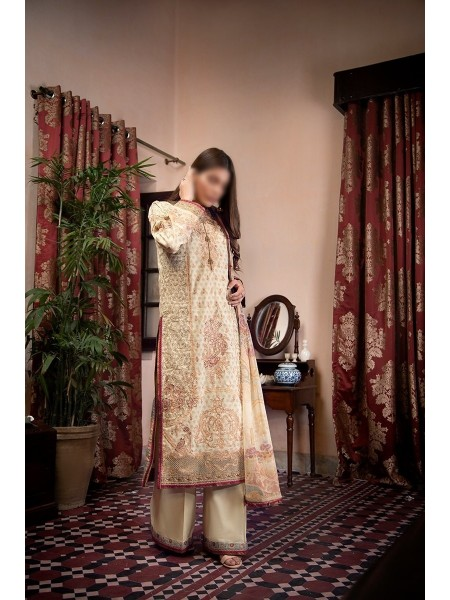 FAHAD HUSSAYN PREMIUM EID UNSTITCHED COLLECTION 21 D-SANGRAAL
