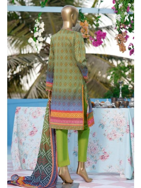 HZ Premium Embroidered Collection Chapter-02 D-PEL 1019