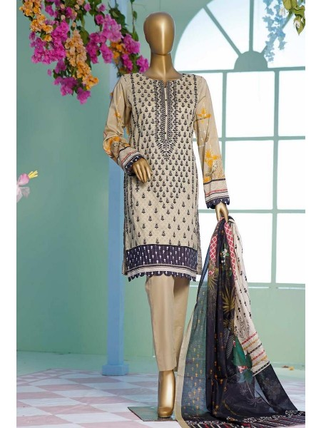 HZ Premium Embroidered Collection Chapter-02 D-PEL 1024