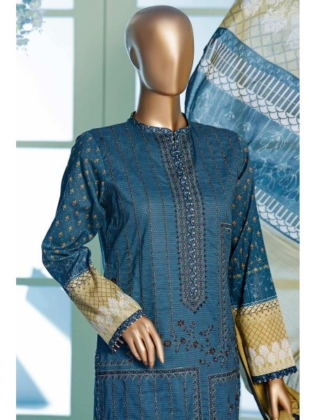 HZ Premium Embroidered Collection Chapter-02 D-PEL 1041