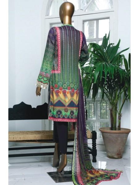 HZ Textile Turkish Chundri Jacquard Unstitched Print S01 TC-1092-B