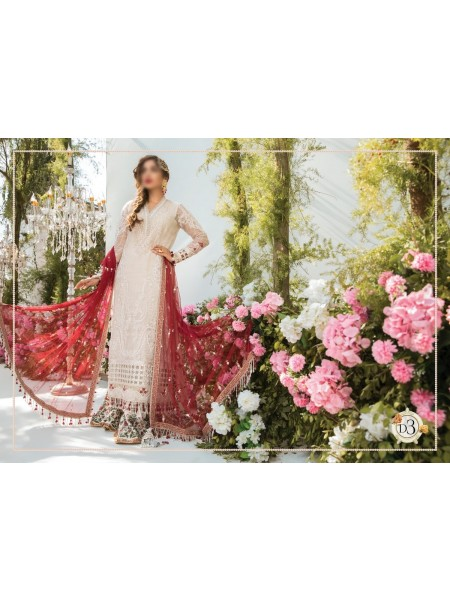 Maria.B. Mbroidered Eid21 Unstitched Catalogue D-03