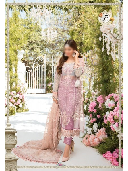 Maria.B. Mbroidered Eid21 Unstitched Catalogue D-05