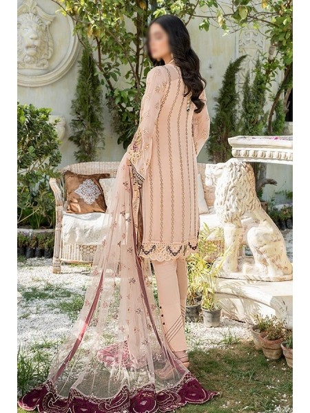 Maryam's Premium Luxury Collection Vol-8 D-MP-185 Peach Glam