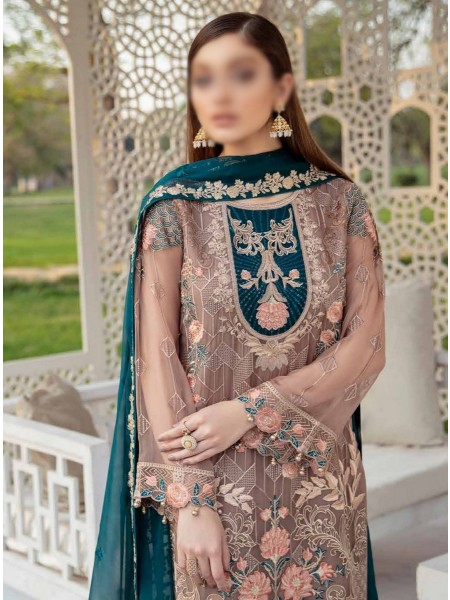 Ramsha Luxury Chiffon Collection Vol-20 D-F 2009
