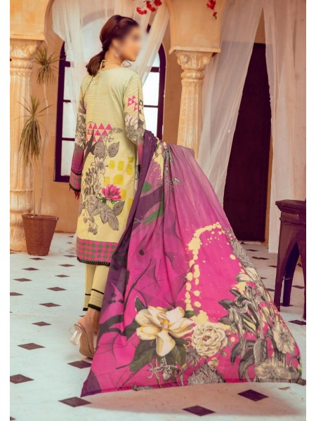 Riaz Arts Mahees Embroidered Lawn Unstitched Collection Vol 8 D-D 10